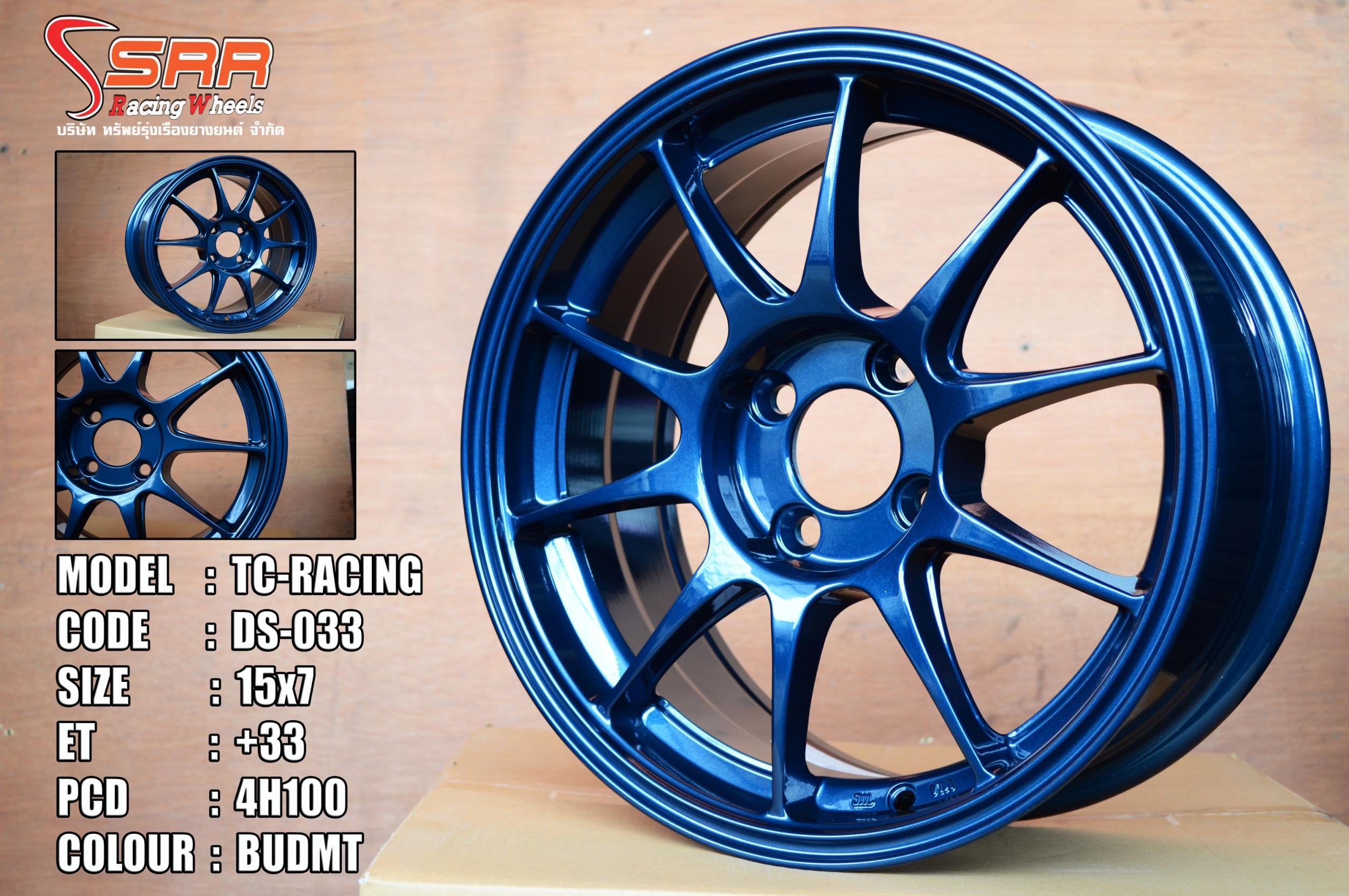 ล้อแม็กซ์ TC-RACING 15นิ้ว 7.0 et+33 ล้อใหม่
