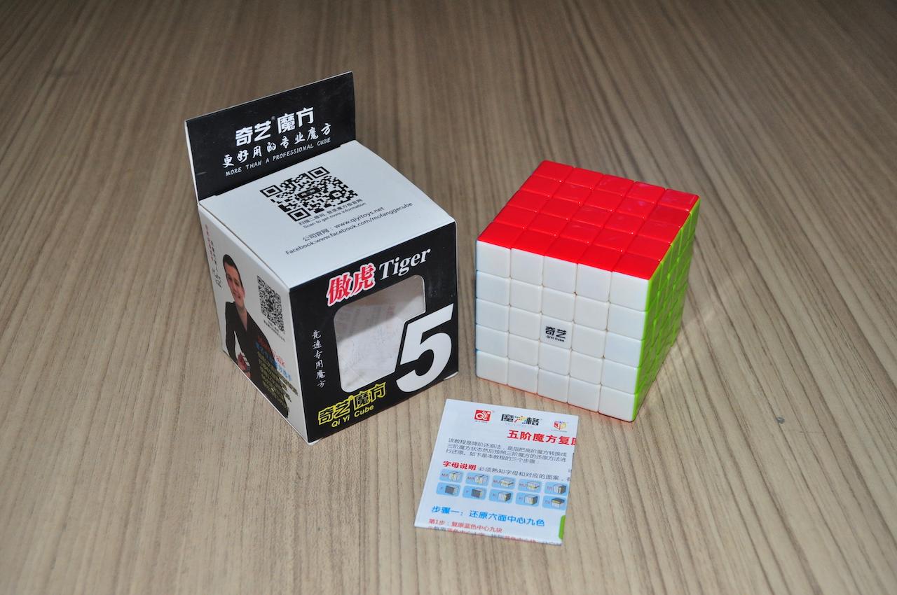 QiYi Tiger 5x5x5 Bright-Stickerless