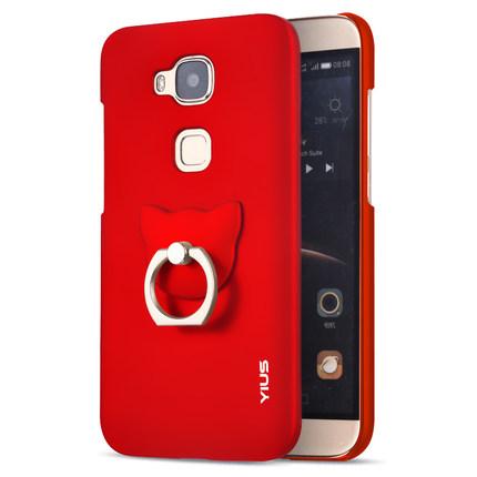 (พรีออเดอร์) เคส Huawei/G7 Plus-Yius พร้อมแหวนคล้องนิ้ว