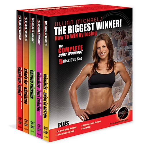 The Biggest Winner: How to Win by Losing - The Complete Body Workout (5-Disc DVD Box Set )