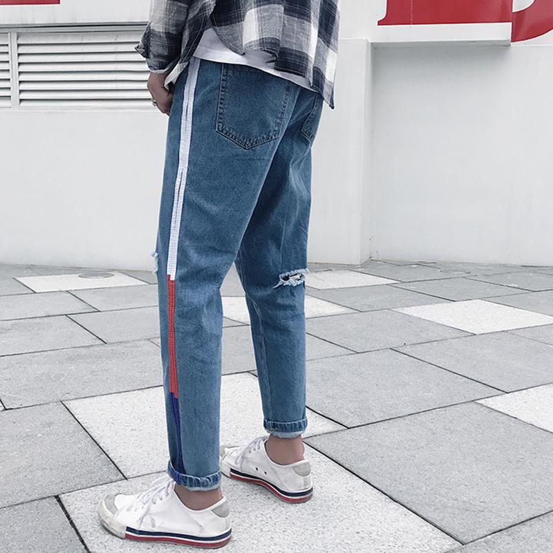 กางเกง   กางเกงยีนส์   กางเกงยีนส์ขายาว