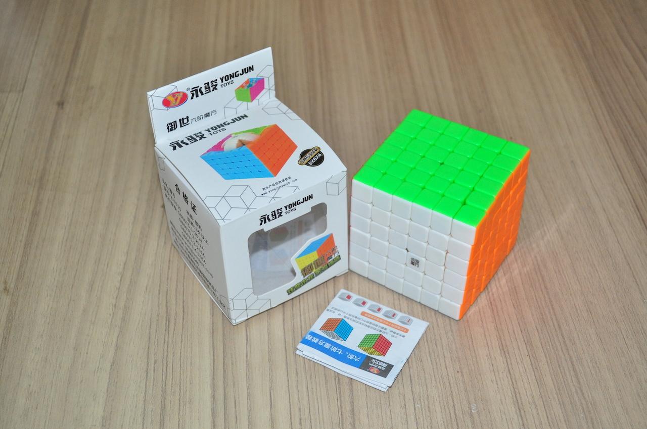 YJ YuShi 6x6x6 Stickerless