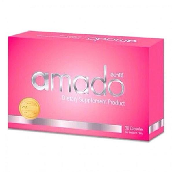 Amado อมาโด้ (อาหารเสริมผู้หญิง) กระชับช่องคลอด สวย กระชับ อัพไซส์