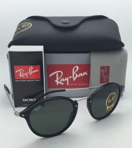 Ray Ban RB2447 901 49mm ROUND FLECK G-15 lenses