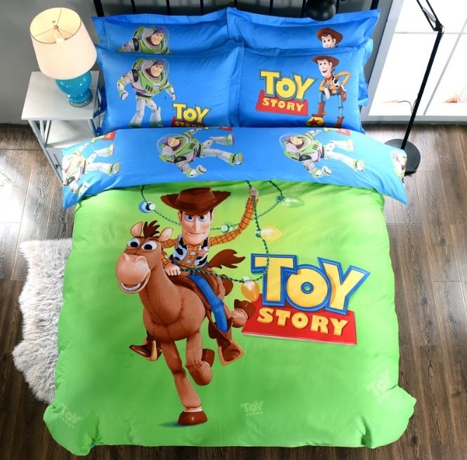 ผ้าปูที่นอน ลายทอยสตอรี่ Toy Story Bedding
