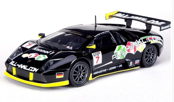 ขาย พรีออเดอร์ โมเดลรถเหล็ก โมเดลรถยนต์ Lamborghini Murcielago Fia Gt 1:24 มี โปรโมชั่น