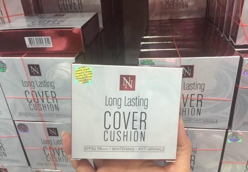NN Aston Natural Long Lasting Cover Cushion แป้ เงา ฉ่ำ วาว