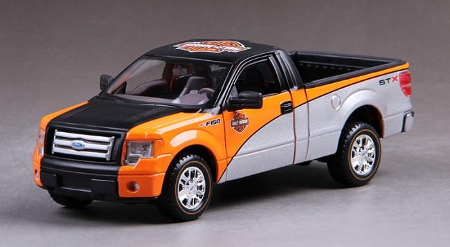 ขาย พรีออเดอร์ โมเดลรถเหล็ก Ford F-150 GTX 1:24 แถมมอเตอร์ไซด์ มีโปรโมชั่น
