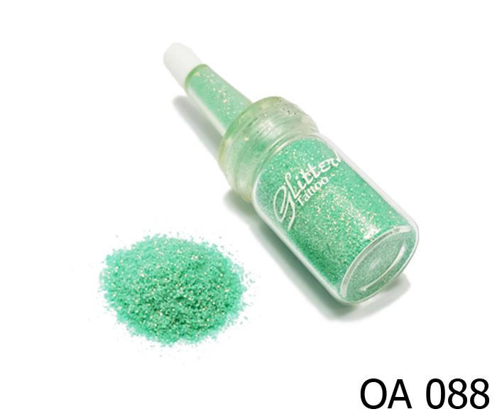 สี เขียวขุ่นประกายทองคริสตัล