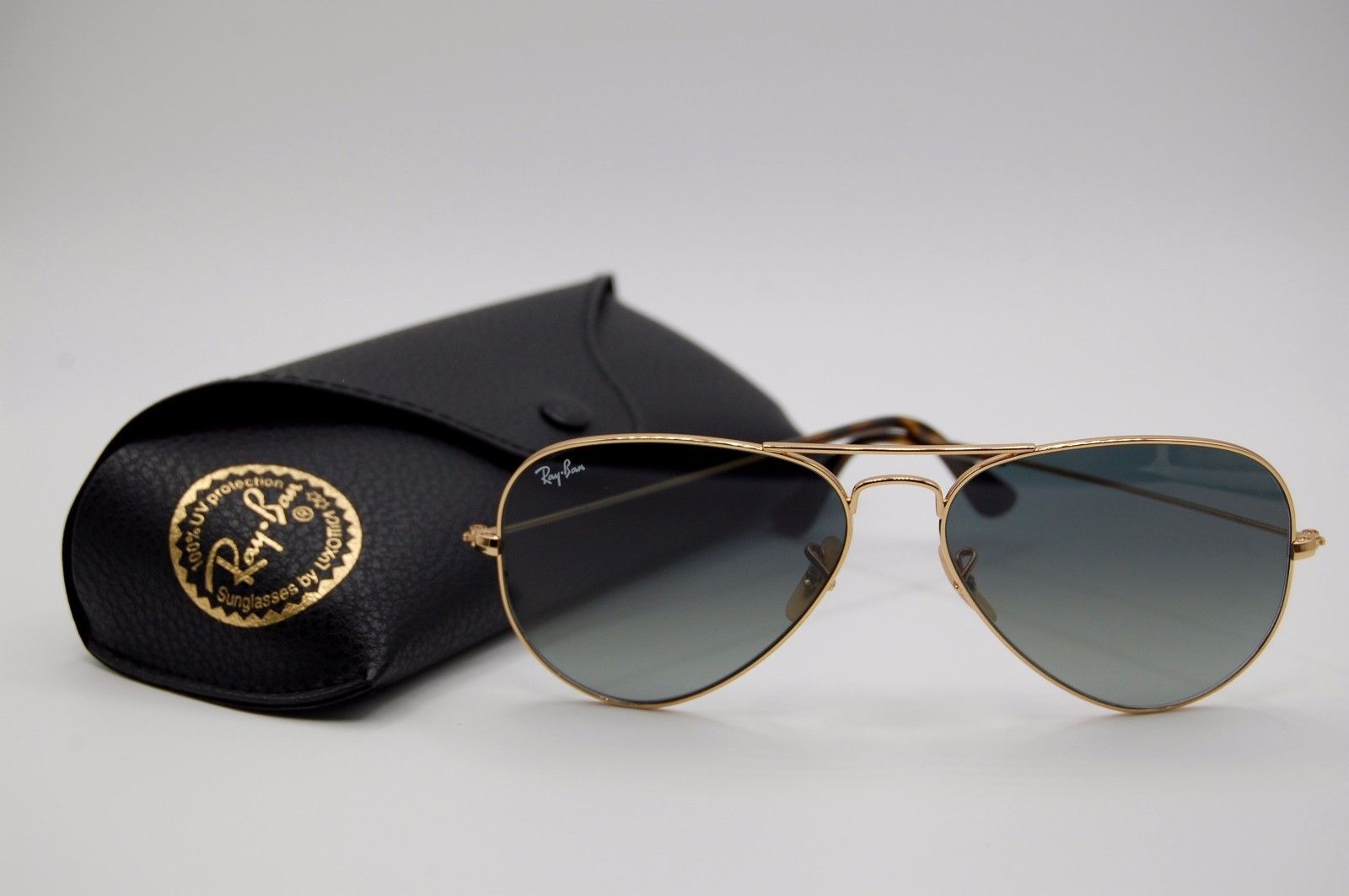 Ray Ban Aviator RB3025 181/71 Gold Grey Gradient 58mm