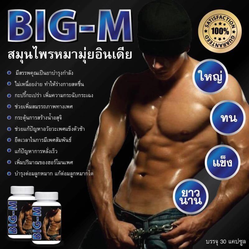 BIG-M ใหญ่ ทน แข็ง ยาวนาน สมุนไพรหมามุ่ยอินเดีย