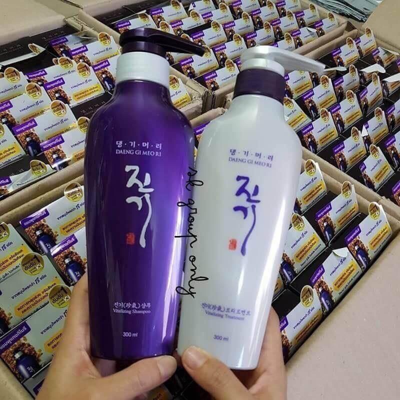 แชมพูแดงจิโมริ DAENG GI MEO RI (ยอดขายอันดับ 1 ในเกาหลี)