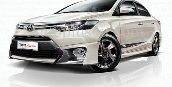 ชุดแต่ง Toyota vios 2014 ทรง TRD Malaysia 1
