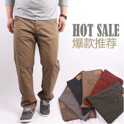 [พรีออเดอร์] กางเกงแฟชั่นเกาหลีผู้ชายไซต์ใหญ่ size 36 - 48 ขายาว มี 2 แบบ - [Preorder] Plus size Men ฺKorean Hitz size 36 - 48 Long Trousers with 2 designs