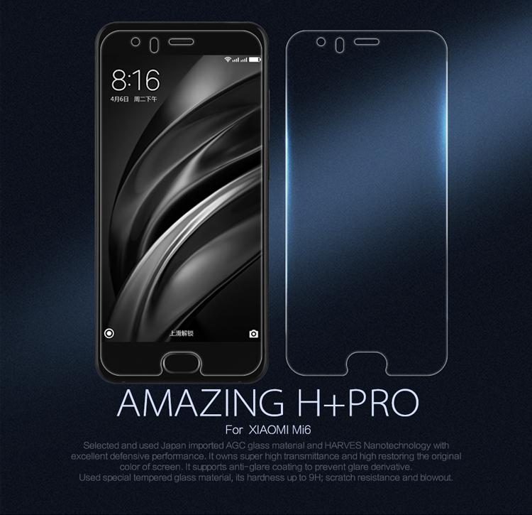 Xiaomi Mi6 ฟิล์มกระจกนิรภัย Nillkin H+ Pro บาง 0.2mm (ไม่เต็มจอ)