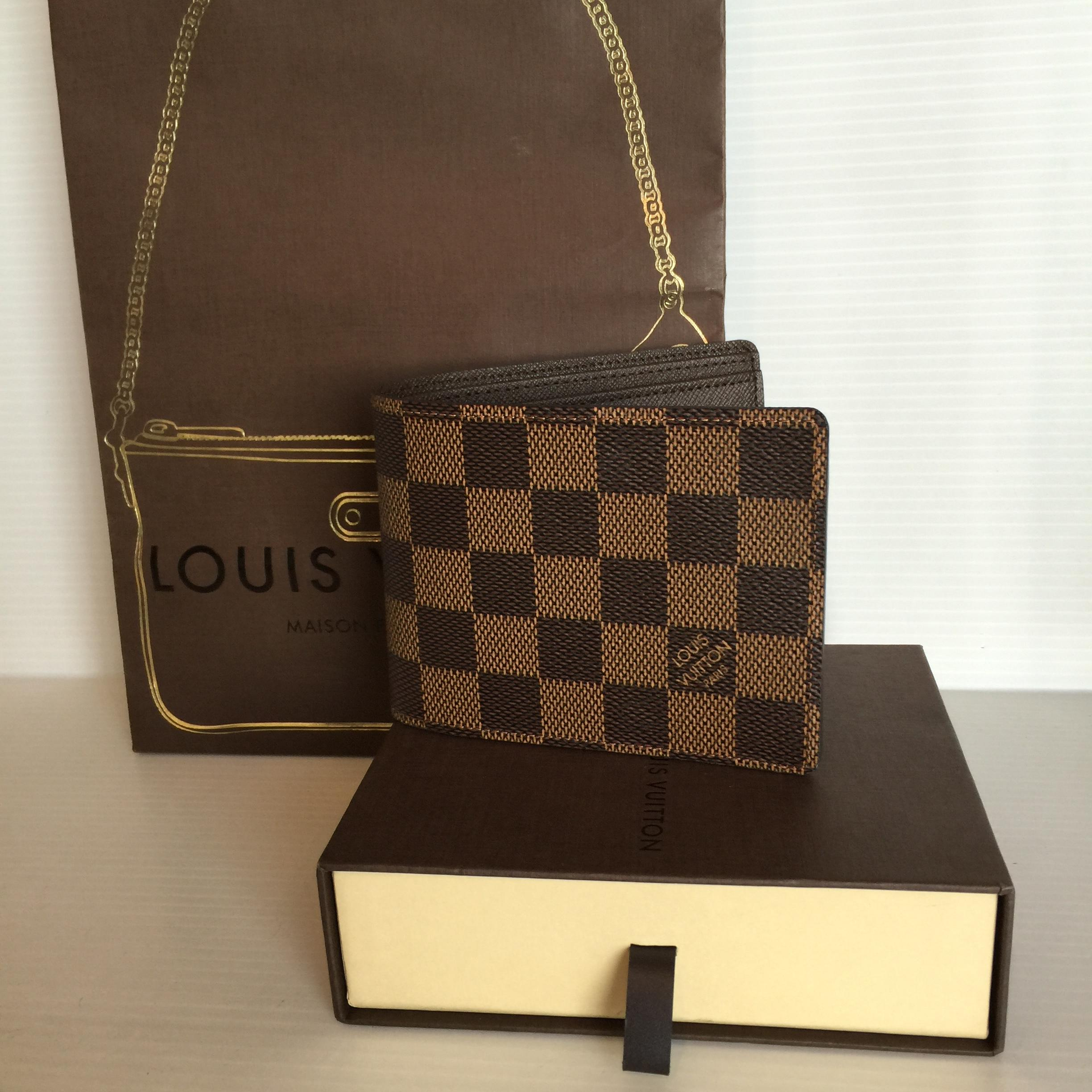 [SOLDOUT]Louisvuitton Multiple wallet damier ของใหม่