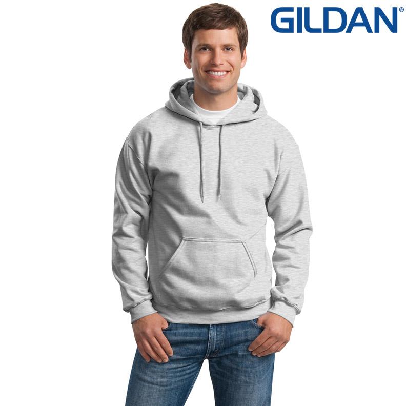 เสื้อฮู้ด Hoodie กันหนาว Gildan แบบสวมหัว สีเทา Sport Grey