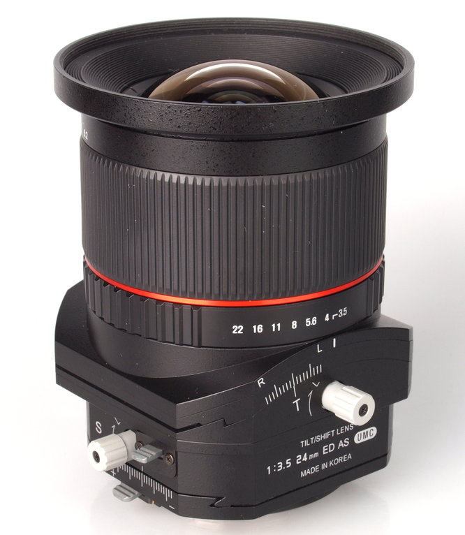 Samyang 24MM F3.5 - Tilt shift For Canon / Sony E / Sony A