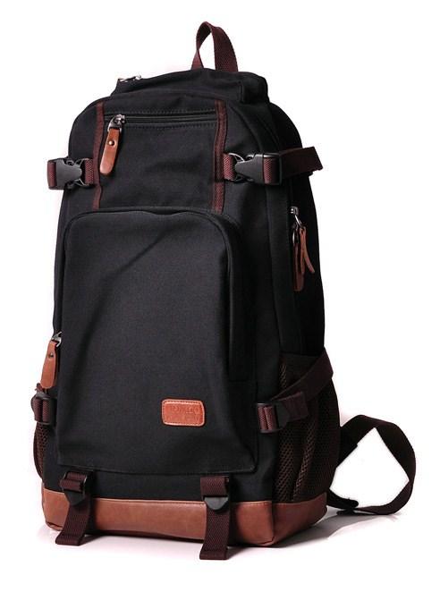 กระเป๋าเป้ Extra canvas มี 3 สี น้ำเงิน ดำ น้ำตาล
