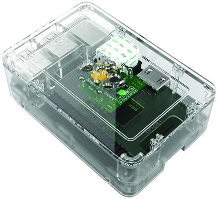 Raspberry Pi B+ /Pi 2 Case Black,White,Clear