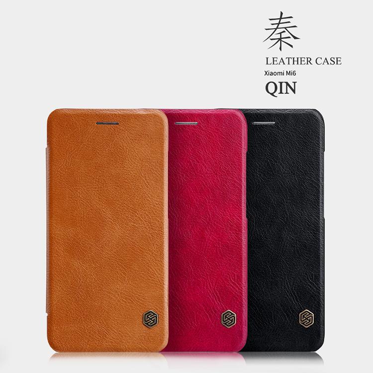 เคส Xiaomi Mi6 NILLKIN Qin Leather Case