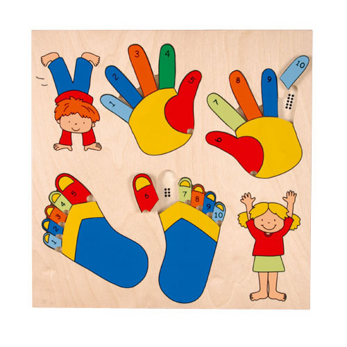 HT PUZZLE HAND AND FEET