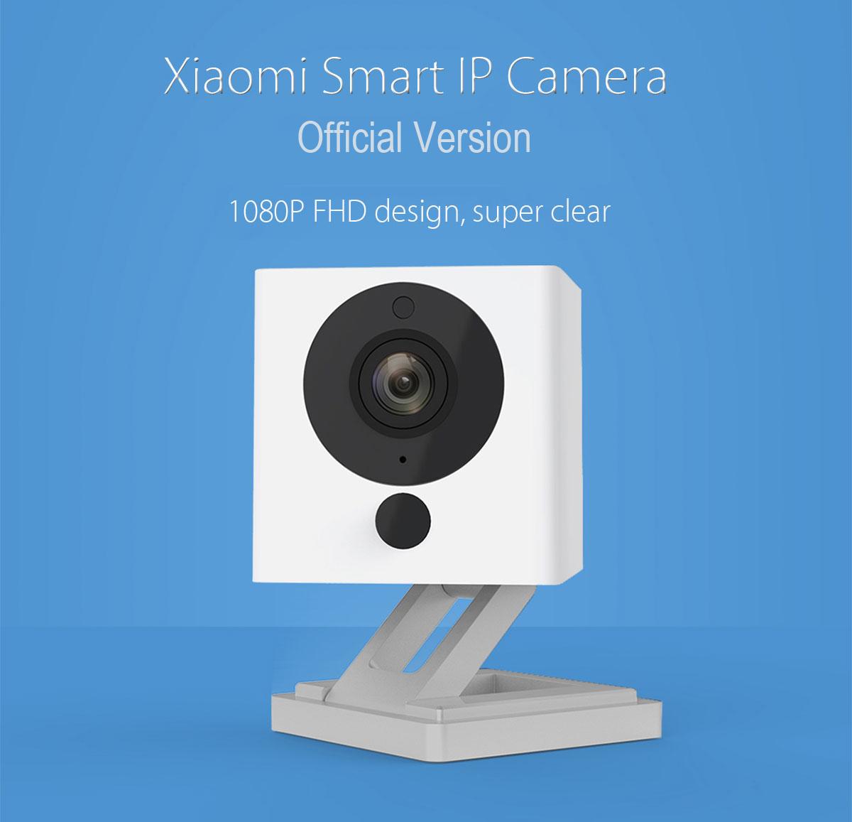 Xiaomi Square Smart IP Camera - กล้องวงจรปิด Xiaomi 1080P