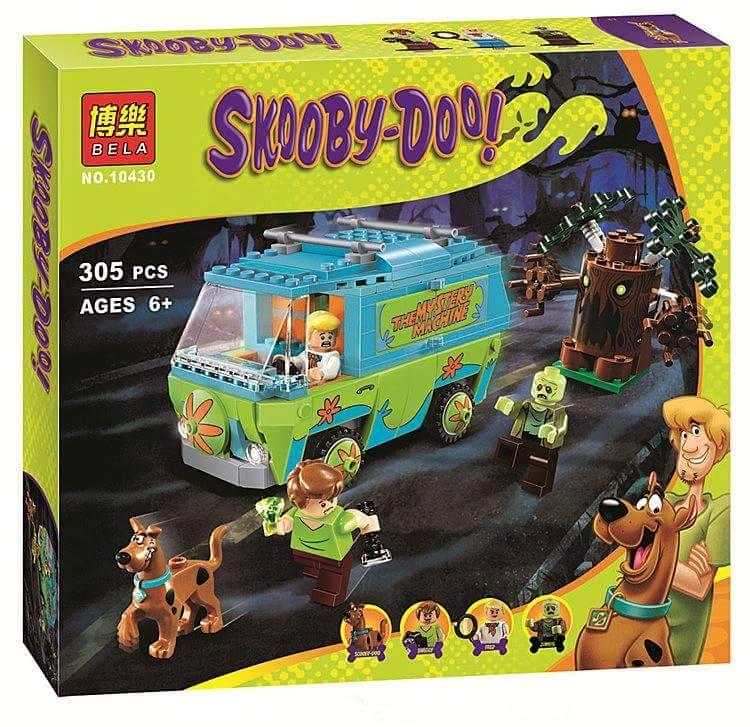 เลโก้จีน BELA No.10430 ชุด Scooby Doo Mystery Machine