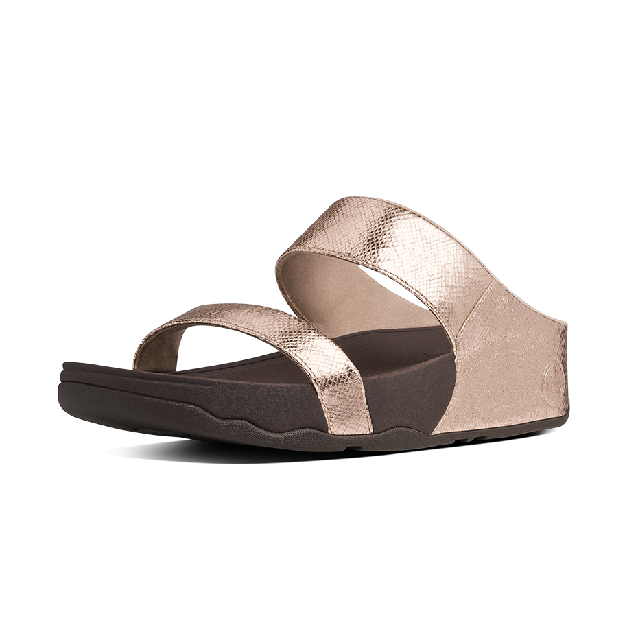 3374c87d7 Fitflop Lulu Lustra Rose Gold