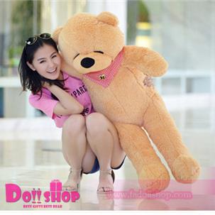 ตุ๊กตาหมีหลับ light brown 1.2 เมตร