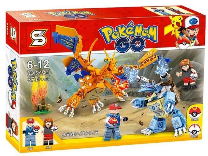 เลโก้จีน SY824 ชุด Pokemon Go