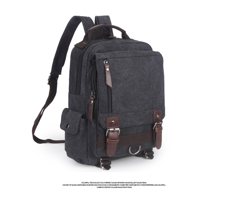 กระเป๋า Canvas Edofree สีดำ