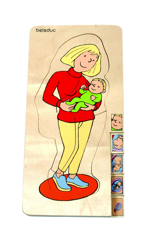 LAYER PUZZLE: PREGNANT
