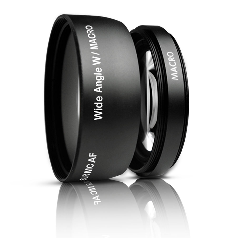 0.45x Macro Wide Angle Lens 58 mm