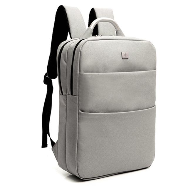 กระเป๋าเป้ Notebook Baisirui High quality (สีเทา)
