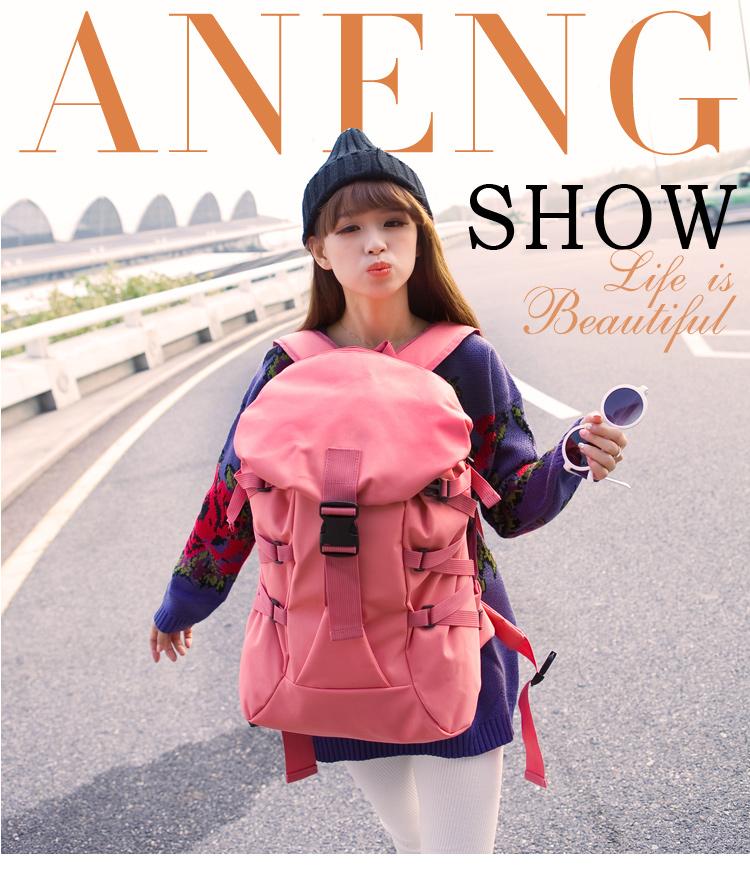 กระเป๋าเป้ Fashion full color backpack