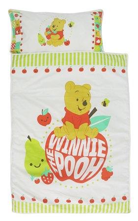 ที่นอนปิกนิก+ผ้าห่ม Pooh apple ขนาด M