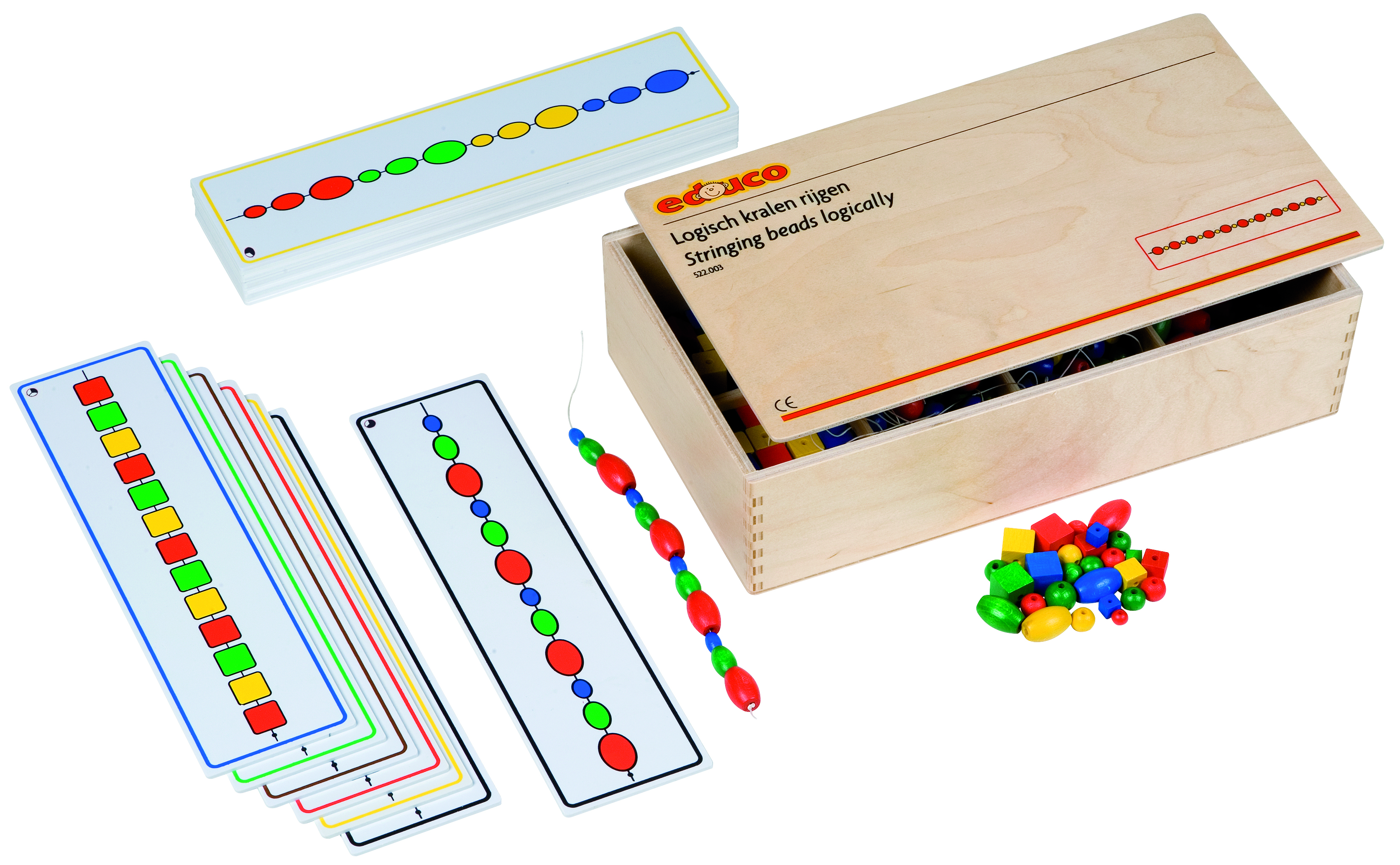 LOGICAL BEAD GAME BOX