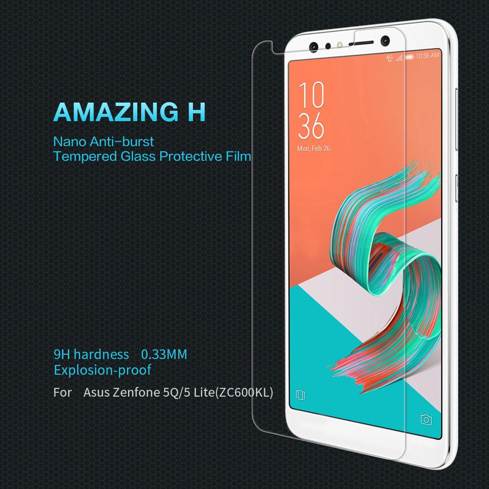 ฟิล์มกระจกนิรภัย Zenfone 5Q (ZC600KL)