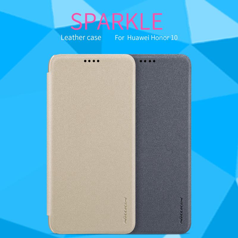 เคสมือถือ Huawei Honor 10 รุ่น Sparkle Leather Case