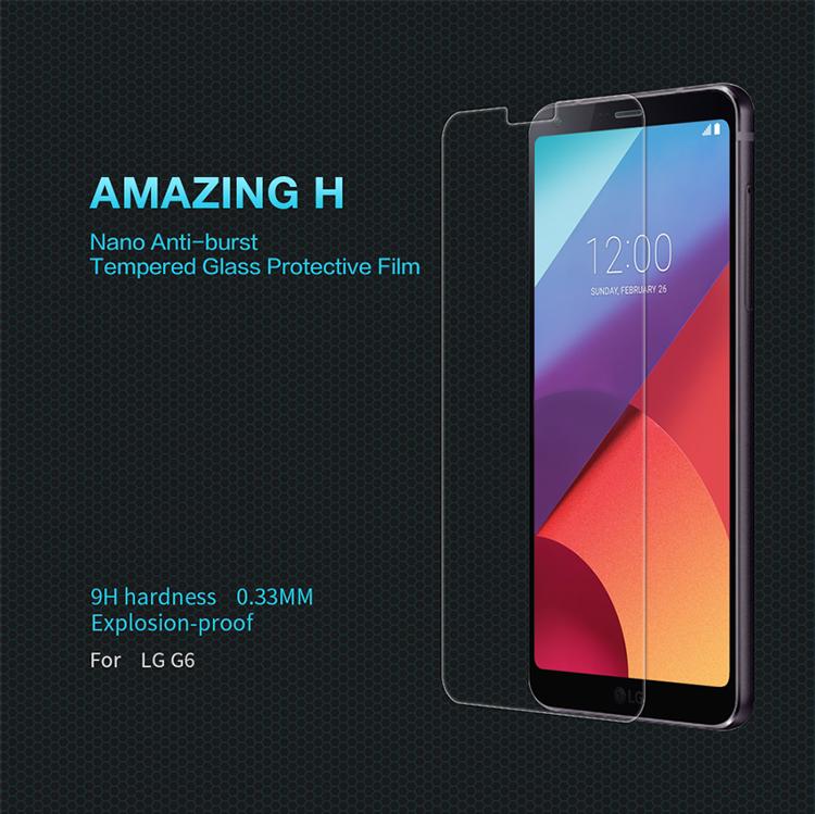 ฟิล์มกระจกนิรภัย LG G6