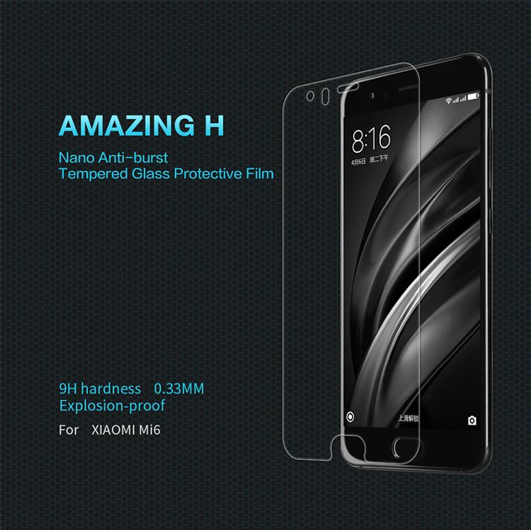 ฟิล์มกระจกนิรภัย Xiaomi Mi6