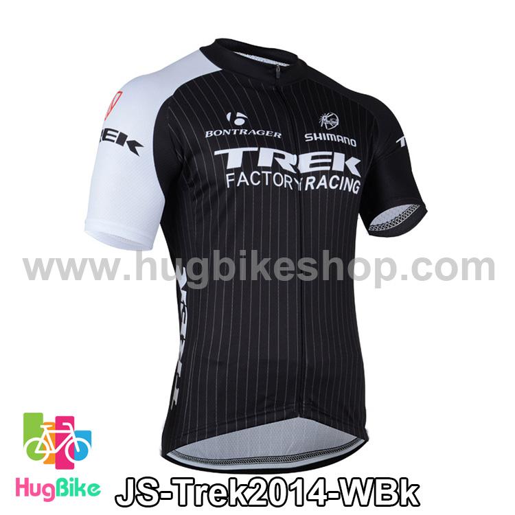 เสื้อจักรยานแขนสั้นทีม Trek 14 สีขาวดำ สั่งจอง (Pre-order)