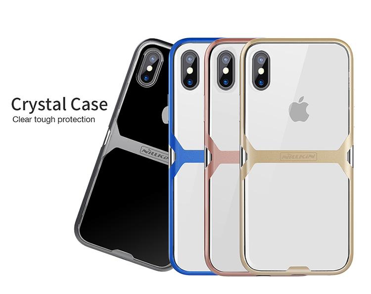 เคสมือถือ Apple iPhone X รุ่น Crystal Case