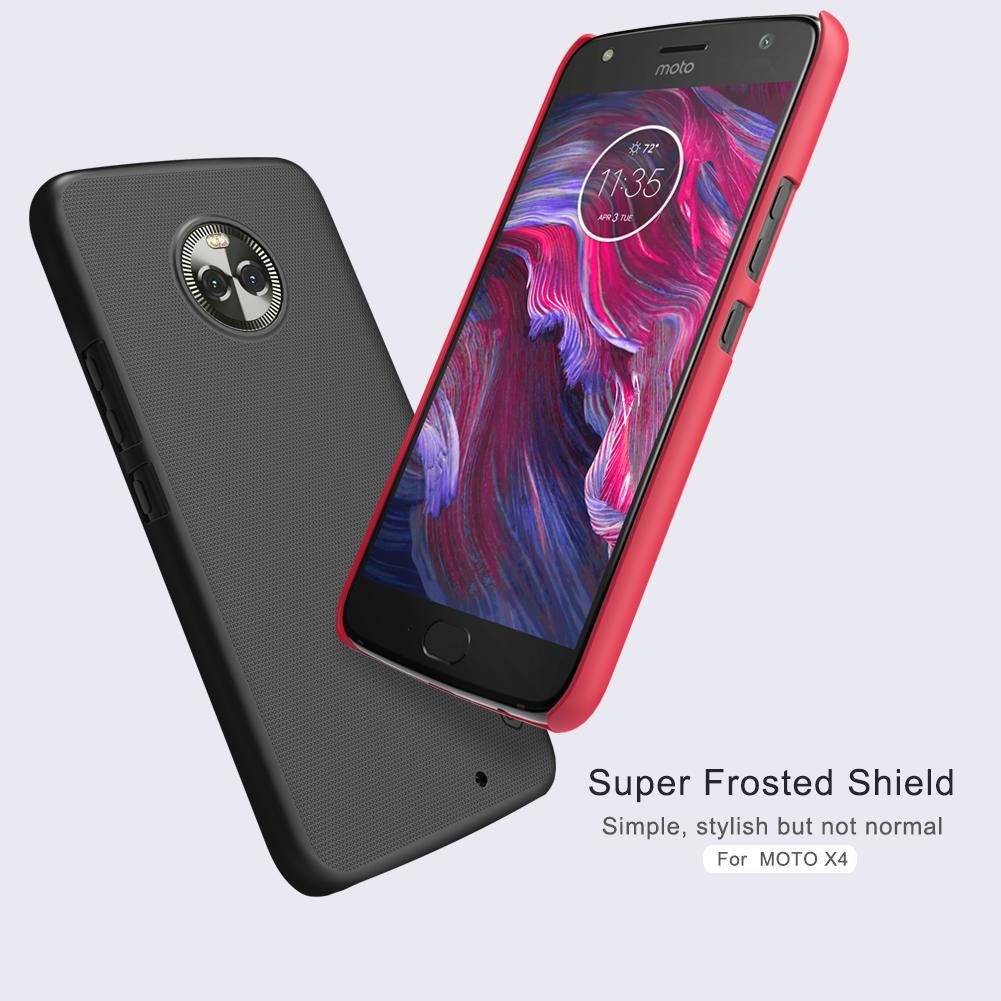 เคสมือถือ Moto X4 รุ่น Super Frosted Shield