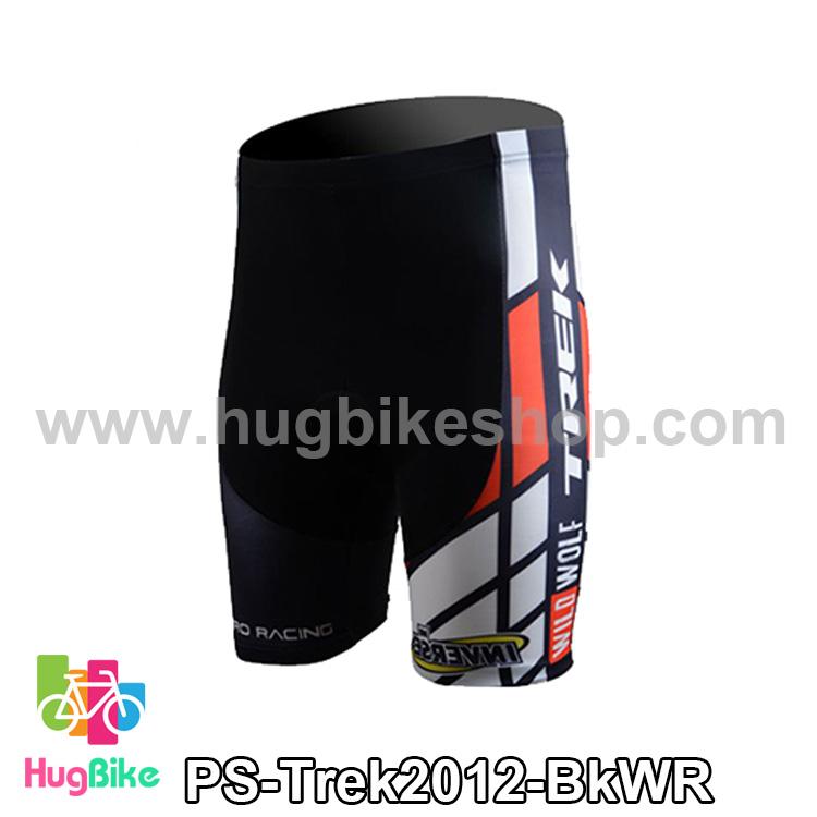 กางเกงจักรยานขาสั้นทีม Trek 13 สีดำขาวแดง สั่งจอง (Pre-order)