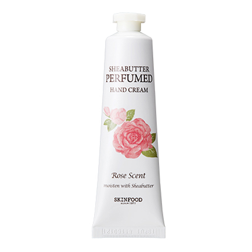 Skinfood Shea Butter Perfumed Hand Cream 30ml. #Rose Scent