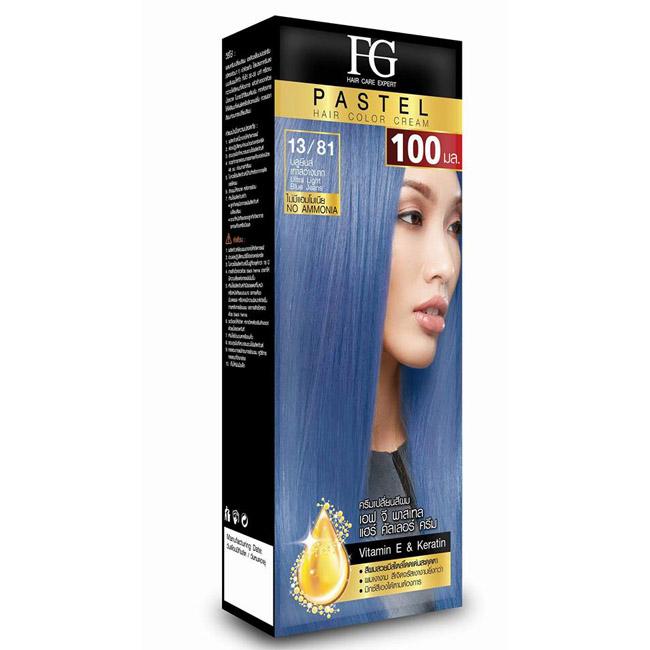 FG Pastel Hair Color Cream 13/81 บลูยีนส์ เทาสว่างมาก Utra Light Blue Jeans