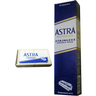 ใบมีดสองคม ASTRA Superior Stainless Double Edge
