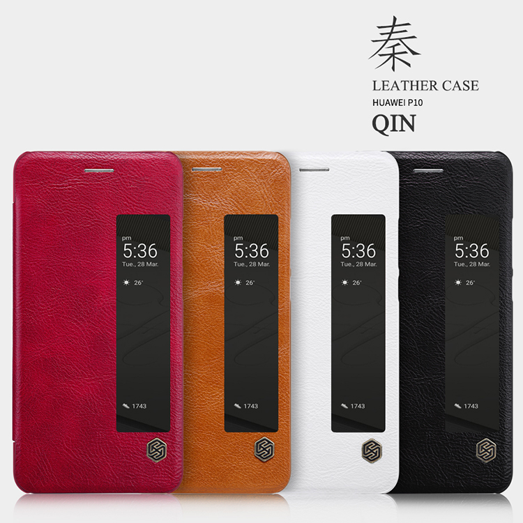 เคสมือถือ Huawei P10 รุ่น Qin Leather Case